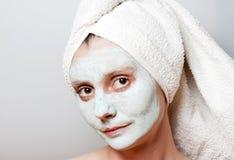 Spa Facial Mask Royalty Free Stock Photos