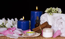 Spa facilities for massage and relaxation Stock Photo