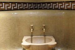 Spa faucet Stock Photo