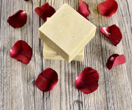 Spa flower and soap Stock Photography