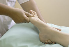 spa foot treatment. Royalty Free Stock Image