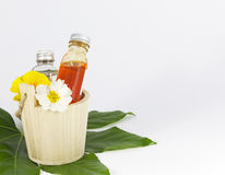 Spa fragrances. Fragrances with primroses at spa Stock Photo