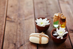 Spa fragrances Stock Photo
