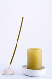 Spa fragrant wand and candle Stock Images