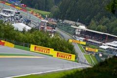 Spa Francorchamps. The Formula 1 season hits the Belgian mountainside at Spa, Francorchamps Stock Photo