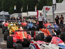 Spa - Francorchamps Belgium formula Renault race Royalty Free Stock Photo