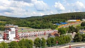 Spa-Francorchamps circuit Stock Photo