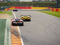 Spa-Francorchamps race weekend Stock Photo