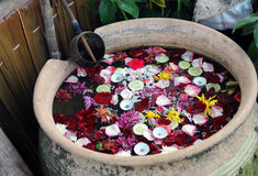 Spa and fresh aromatherapy bowl Stock Image