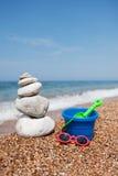 Spa and fun at the beach Royalty Free Stock Photo