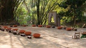 Spa garden. Royalty Free Stock Photos