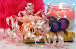 Spa Gift Close Up Royalty Free Stock Photography