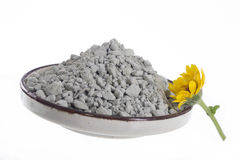 SPA Green clay powder Stock Images