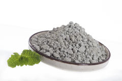 SPA Green clay powder Royalty Free Stock Image