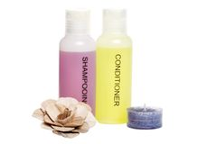 Spa hair care items Stock Image