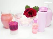 Free Spa Hair Mask Tonic Essences Liquid Soap Stock Photos - 14005133