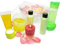 Free Spa Hair Mask Tonic Essences Liquid Soap Royalty Free Stock Photo - 22662985