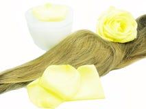 Spa hair treatment Stock Photo