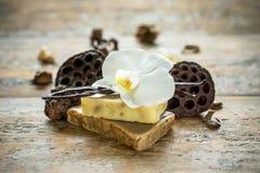 Spa handmade natural soap Royalty Free Stock Photo