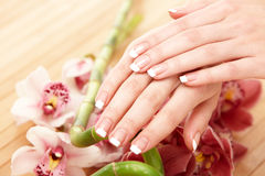 Spa hands Royalty Free Stock Images
