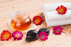 Spa and healthy lifestyle Stock Image