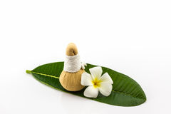 Spa herbal compressing ball. Stock Photo