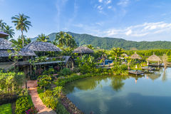 Spa and hotel area in Koh Chang Stock Images