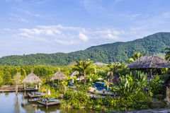 Spa and hotel area in Koh Chang Royalty Free Stock Images
