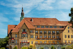 Spa Hotel in Poland Royalty Free Stock Image