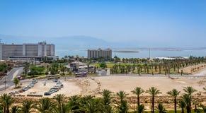 Spa hotell av det döda havet, Israel Arkivfoton