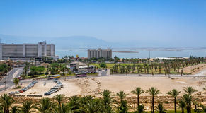 Spa Hotels of the Dead Sea, Israel Stock Photos