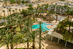 Spa Hotels of the Dead Sea, Israel Royalty Free Stock Images