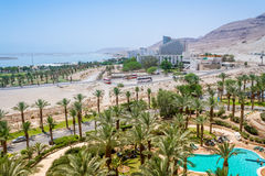 Spa Hotels of the Dead Sea, Israel Royalty Free Stock Photos