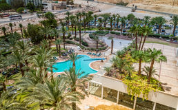 Spa Hotels of the Dead Sea, Israel Stock Images