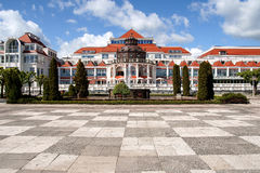 The Spa house. View of  Sopot Spa house Stock Photos
