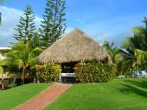 Spa hut at resort in Costa Rica Stock Images