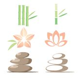 Spa icons. Abstract Spa icons, illustration royalty free illustration