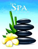 Spa  illustration Royalty Free Stock Photography