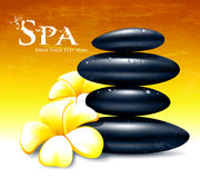 Spa  illustration Royalty Free Stock Photos