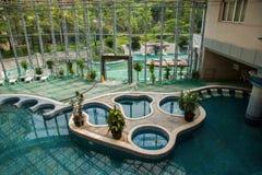 Spa indoor pool Stock Image