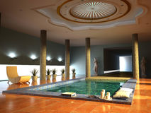 Spa interior Stock Photos