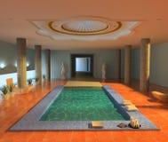 Spa interior. Luxury spa interior ( 3d rendering