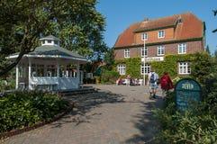 Spa island Spiekeroog, Germany Stock Images