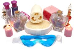 Spa Items Stock Photo