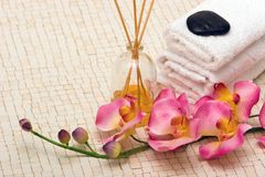 Spa items Royalty Free Stock Photography
