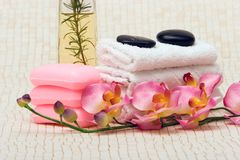 Spa items Royalty Free Stock Image