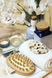 Spa items composition royalty free stock images