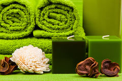 Spa kit Royalty Free Stock Images