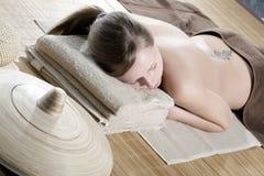 spa kobieta obrazy stock