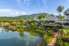 The SPA Koh Chang Resort on the island of Koh Chang Royalty Free Stock Photography